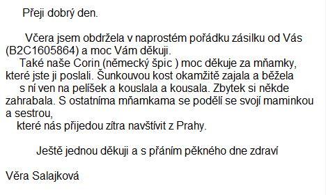 z e-mailů