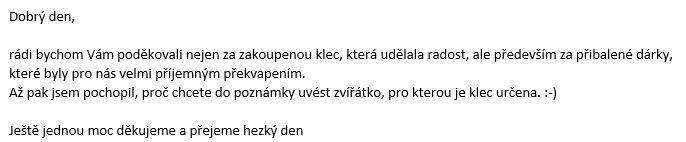 z e-mailu