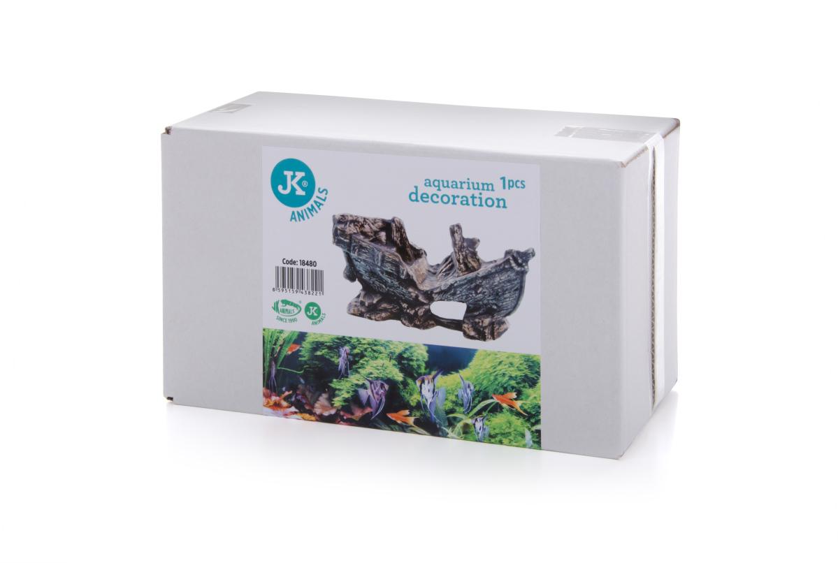 JK ANIMALS Malý vrak lodě – keramická dekorace do akvárií a terárií | © copyright jk animals, všechna práva vyhrazena