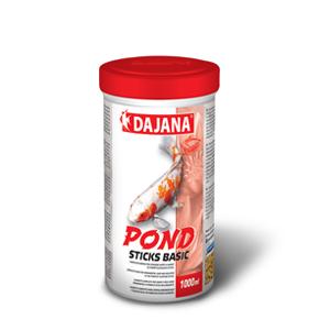 Dajana – Pond sticks basic, krmivo (granule) pro ryby 1l