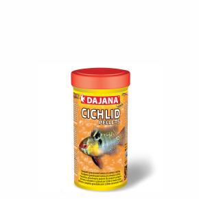 Dajana Cichlid pellets, krmivo (granule) pro ryby 250ml, 2mm