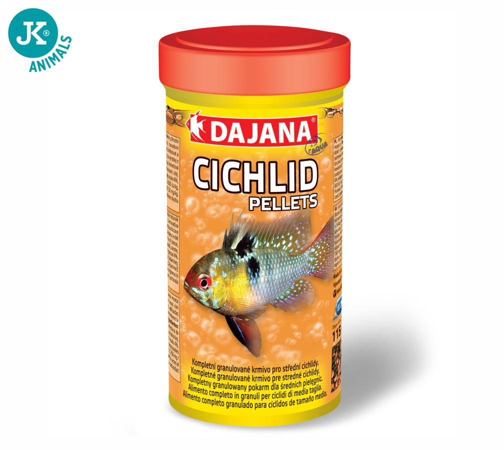 Dajana Cichlid pellets, krmivo (granule) pro ryby 1 000ml, 3 mm | © copyright jk animals, všechna práva vyhrazena