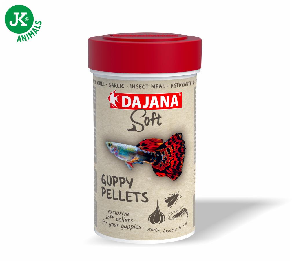 Dajana Guppy soft pellets 100ml | © copyright jk animals, všechna práva vyhrazena