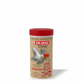 Dajana Worms Goldfish pellets 250ml