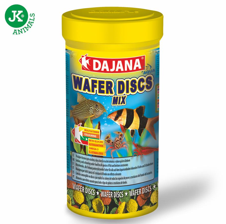 Dajana Wafer discs mix 100ml   © copyright jk animals, všechna práva vyhrazena