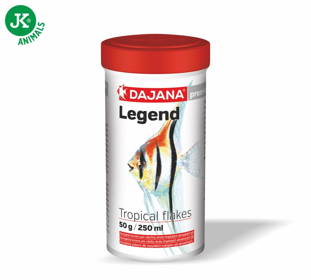 Dajana Legend Premium – Tropical flakes, 250ml | © copyright jk animals, všechna práva vyhrazena