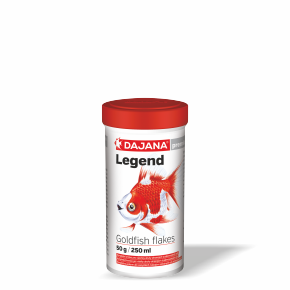 Dajana Legend – Goldfish flakes, 250 ml vločky