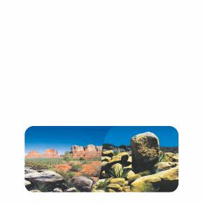 Oboustranné akvarijní pozadí