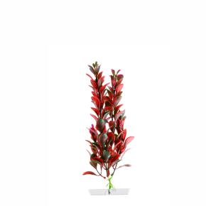 Red Ludwigia malá, akvarijní plastová rostlinka