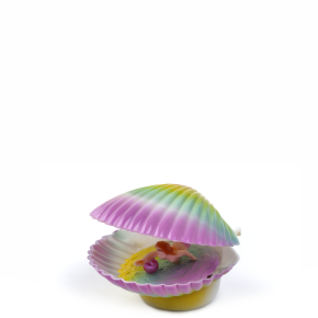 Vzduchovací mušle, plastová akvarijní dekorace