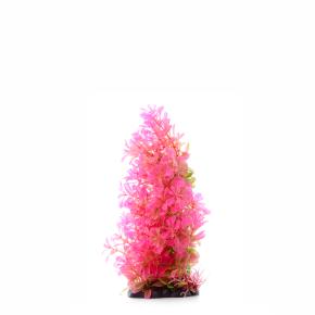 Ludwigia růžová, akvarijní plastová rostlinka