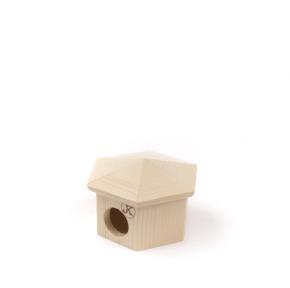 Dřevěný domek JURTA pro myšky