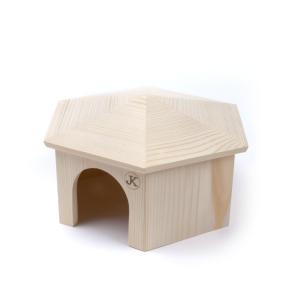 Dřevěný domek JURTA pro morčata