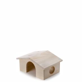 Dřevěný domek pro morčata