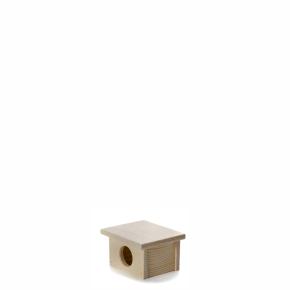 Dřevěný domek pro myšky