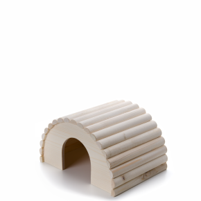 Dřevěné iglú pro králíky