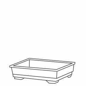 ND: plastové dno pro klec Fretka, Králík 100 cm