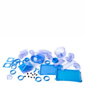 ND: plastová výbava pro klece ROCKY+TARAS