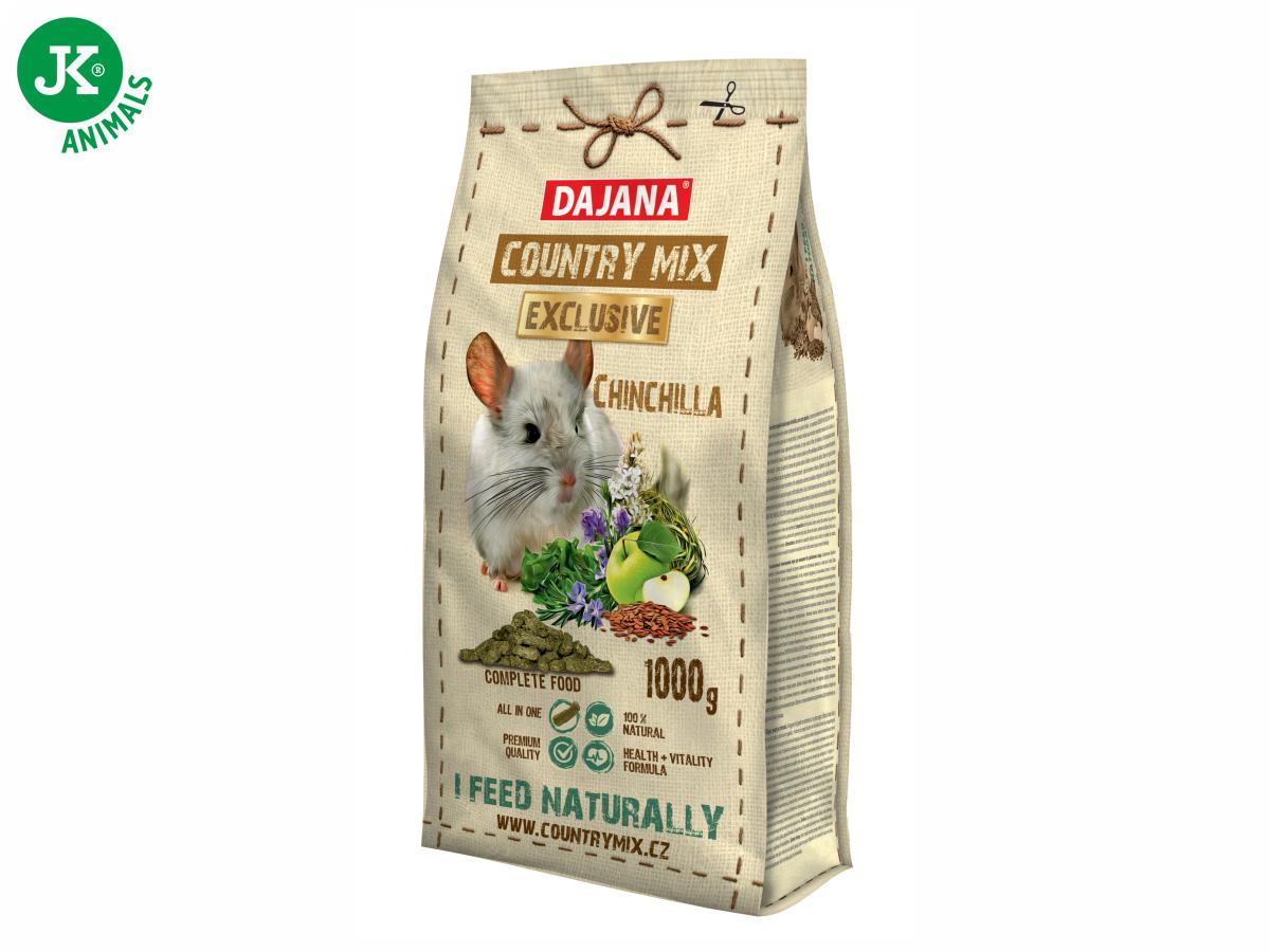 Dajana – COUNTRY MIX EXCLUSIVE, Chinchilla (činčila) 1000 g | © copyright jk animals, všechna práva vyhrazena
