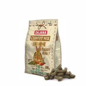 Dajana – COUNTRY MIX EXCLUSIVE, králík 500g, krmivo prokrálíky
