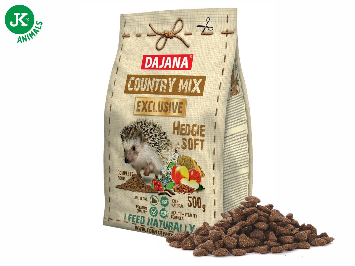 Dajana – COUNTRY MIX EXCLUSIVE, Hedgie (ježek) 500g | © copyright jk animals, všechna práva vyhrazena