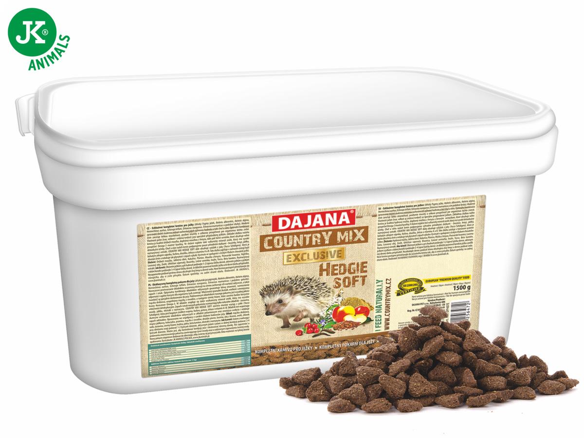 Dajana – COUNTRY MIX EXCLUSIVE, Hedgie (ježek) 1500g   © copyright jk animals, všechna práva vyhrazena