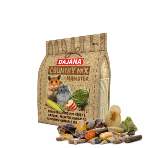 Dajana – COUNTRY MIX, Hamster 500g, krmivo prokřečky