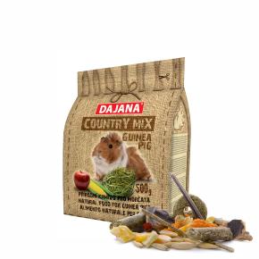 Dajana – COUNTRY MIX, Guinea Pig 500g, krmivo promorčata