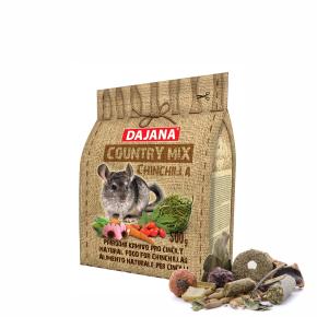 Dajana – COUNTRY MIX, Činčila 500g, krmivo pročinčily