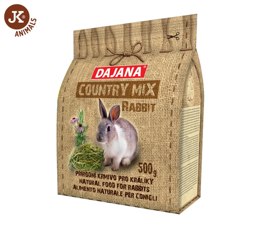 Dajana – COUNTRY MIX, Rabbit (králík) 500g | © copyright jk animals, všechna práva vyhrazena