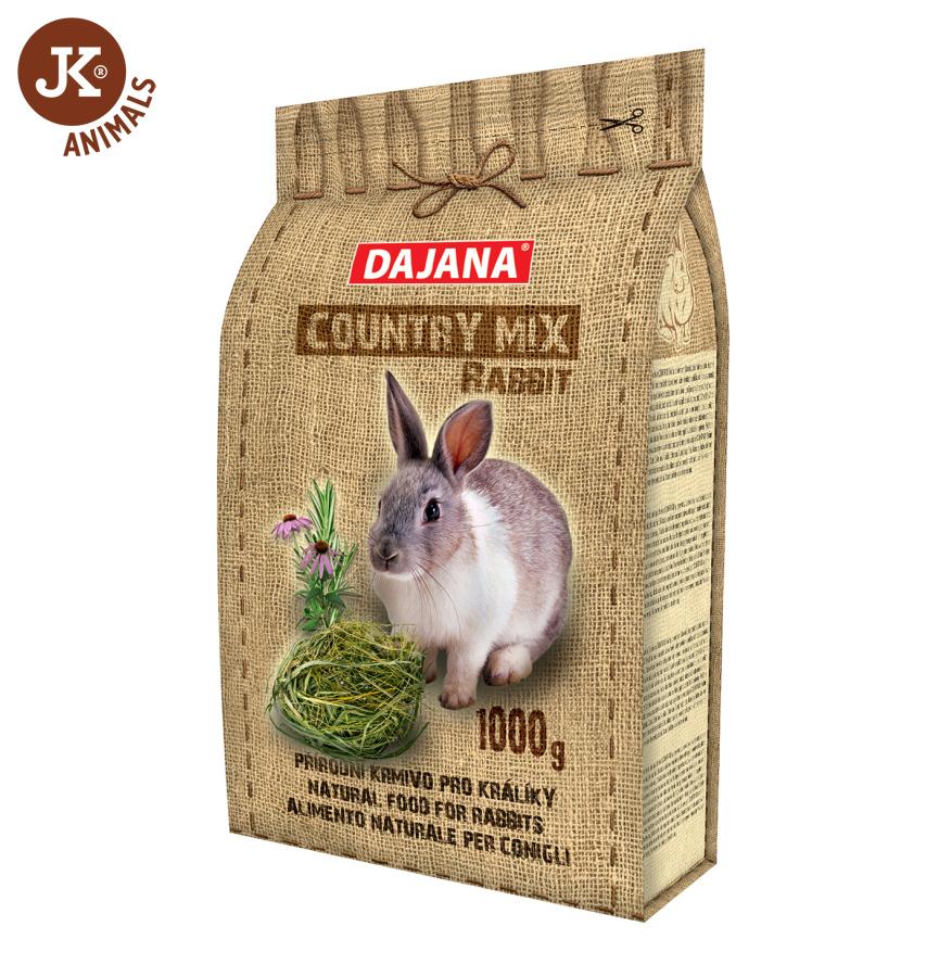Dajana – COUNTRY MIX, Rabbit (králík) 1 000g | © copyright jk animals, všechna práva vyhrazena