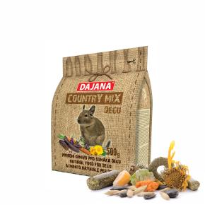 Dajana – COUNTRY MIX, Degu 500g, krmivo proosmáky degu
