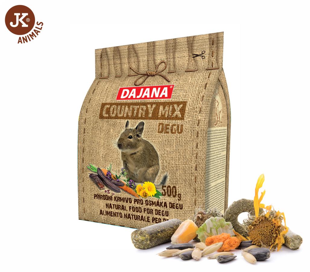 Dajana – COUNTRY MIX, Degu (osmák) 500g | © copyright jk animals, všechna práva vyhrazena
