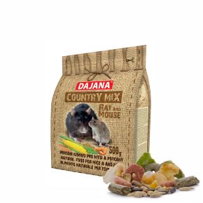 Dajana – COUNTRY MIX, Potkan aMyš 500g, krmivo propotkany amyši