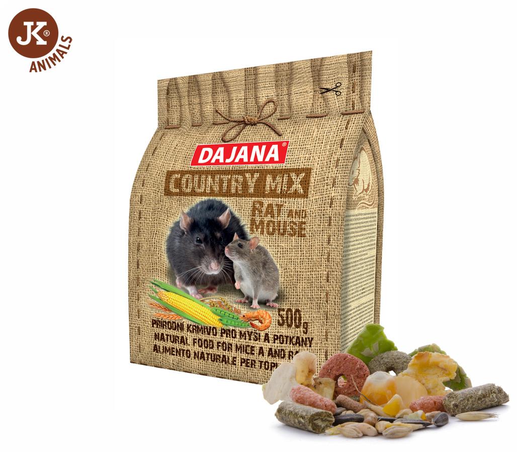 Dajana – COUNTRY MIX, Rat and Mouse (potkan a myš) 500g | © copyright jk animals, všechna práva vyhrazena