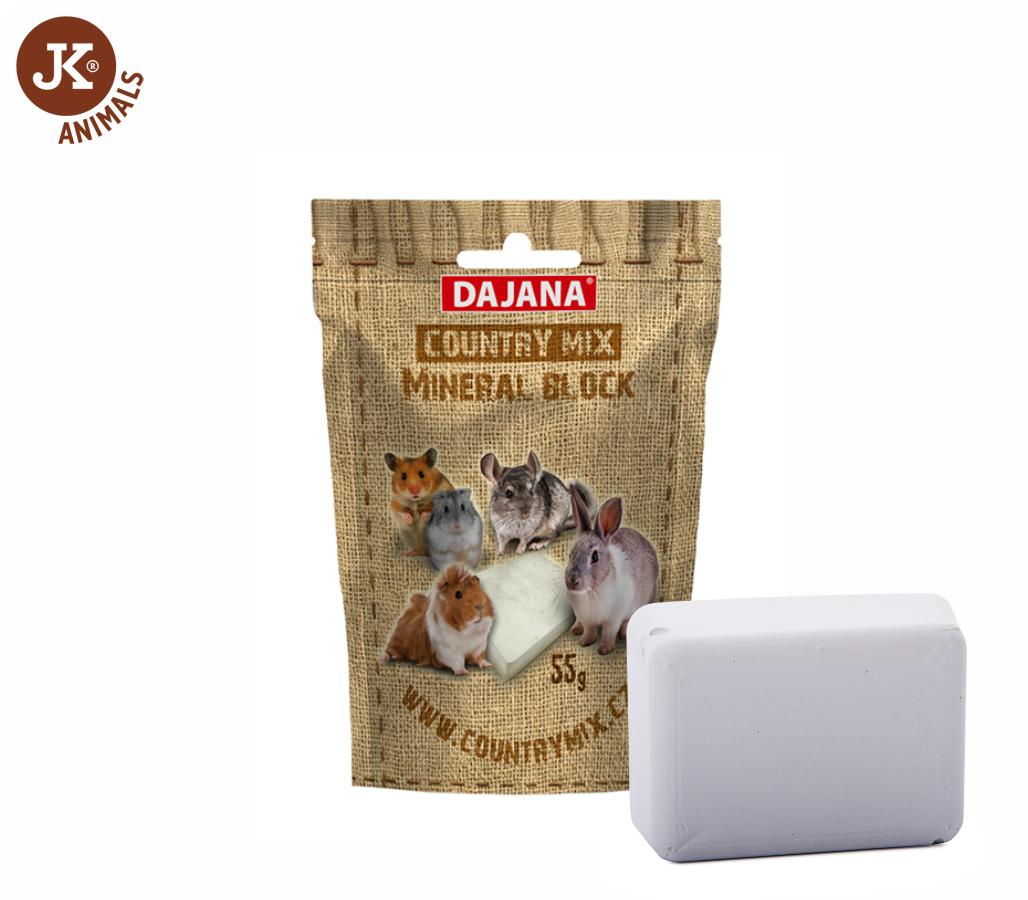 Dajana – COUNTRY MIX, Mineral block (minerální kámen) | © copyright jk animals, všechna práva vyhrazena