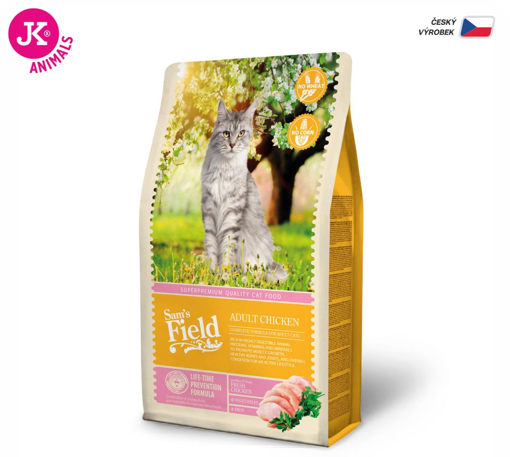 Sam's Field Cat Adult Chicken | © copyright jk animals, všechna práva vyhrazena