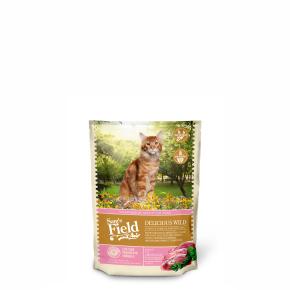 Sams Field Cat Delicious Wild, superprémiové granule sdivočinou 400g (Sam's Field)
