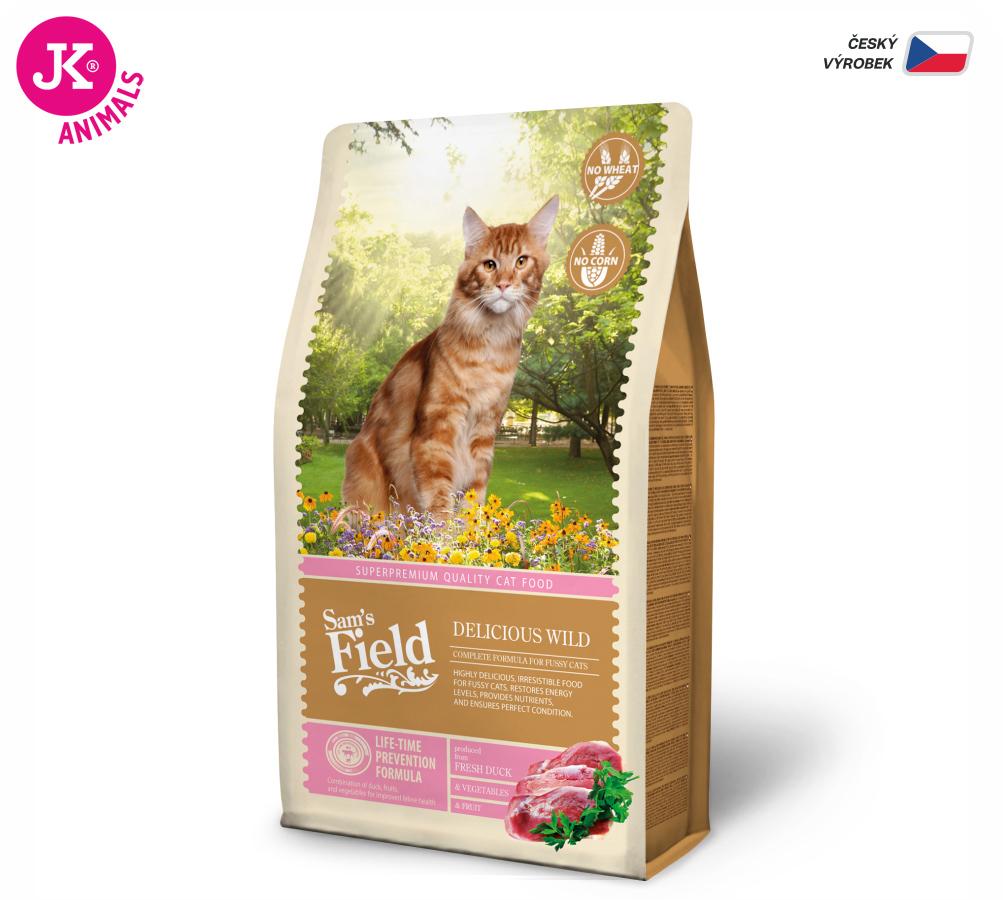 Sam's Field Cat Delicious Wild | © copyright jk animals, všechna práva vyhrazena