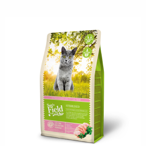 Sams Field Cat Sterilised, superprémiové granule 2,5kg (Sam's Field)