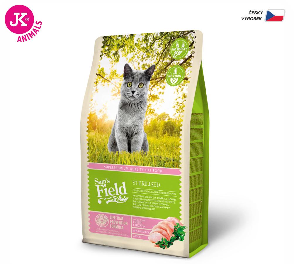 Sam's Field Cat Sterilised   © copyright jk animals, všechna práva vyhrazena
