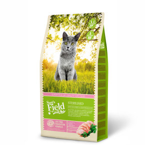 Sams Field Cat Sterilised, superprémiové granule 7,5kg (Sam's Field)