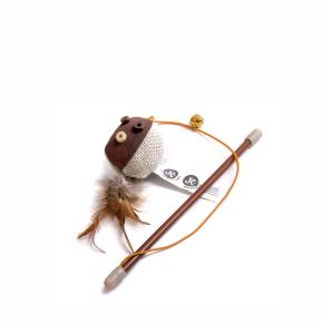 Balónek na prutě s catnipem (šantou), hračka