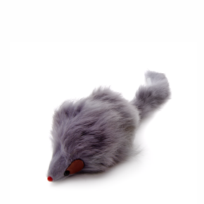 Velké huňaté myšky, chlupatá hračka