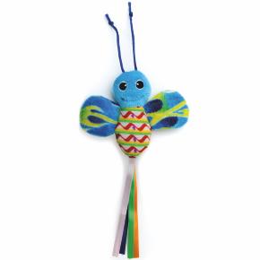 Modrý šustící motýl, hračka