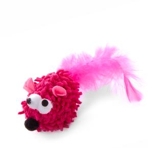 Růžová myš mop, hračka