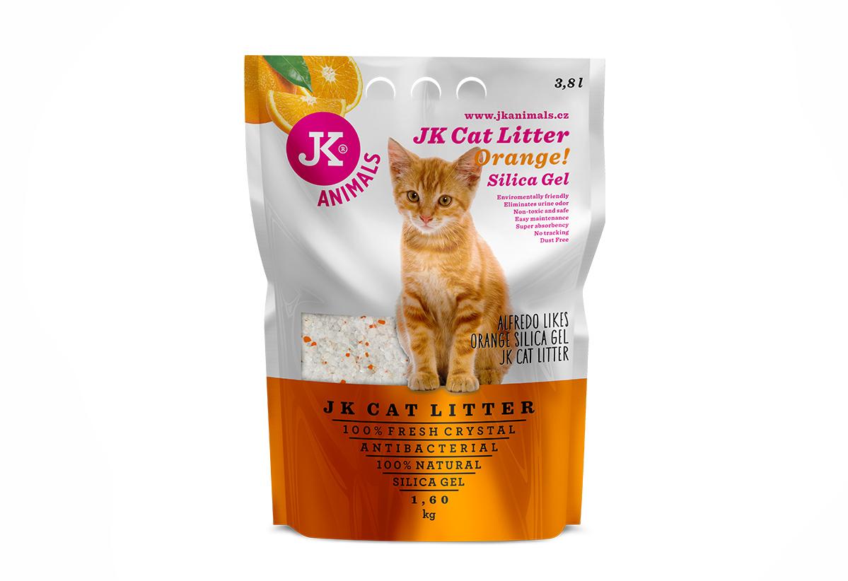 Litter Silica gel - orange | © copyright jk animals, všechna práva vyhrazena