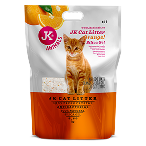 Litter Silica gel - orange, kočkolit 16 l