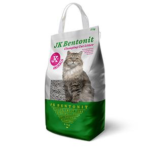 Podestýlka JK Bentonit - Cat Litter, kočkolit 5kg