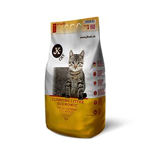 JK CAT Economic - hrudkující podestýlka, kočkolit 4,5kg